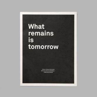 What Remains is Tomorrow